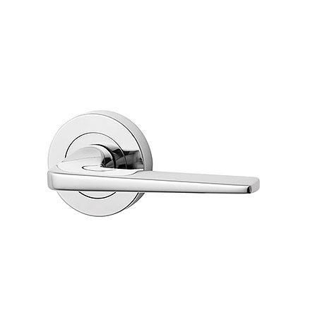 Lockwood 1220 Series Brass Door Handle - Lever 32