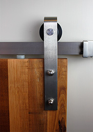 Barn Door Classic Stainless Track
