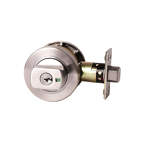 Lockwood 005 Double Cylinder Round Deadbolt