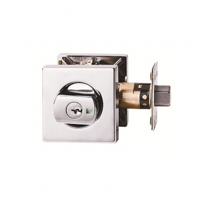 Lockwood 005 Double Cylinder Square Deadbolt