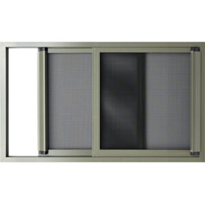 Security Window Screen Exit Sliding