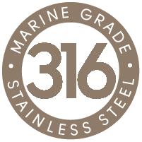 316 Marine Grade Stainless Steel